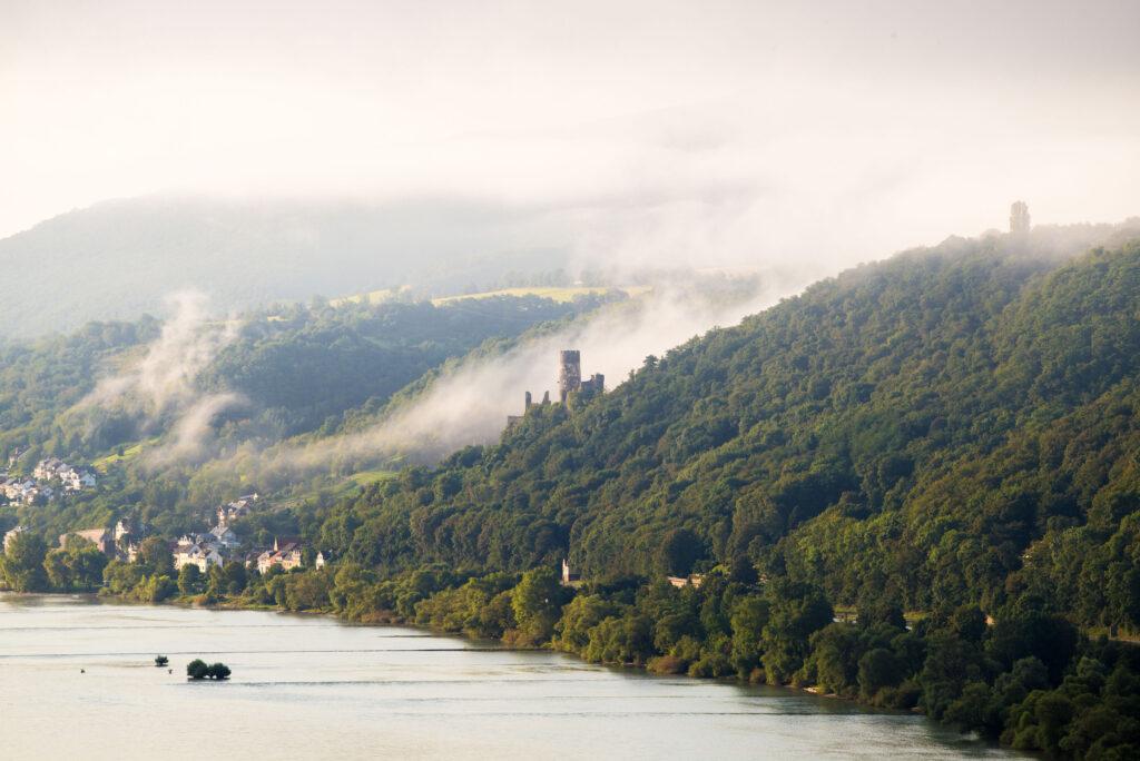 Burgenblicke am Rhein