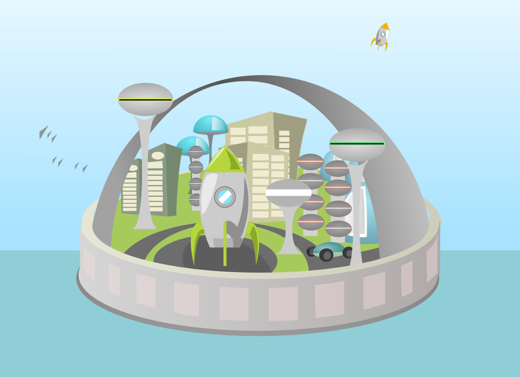 Sieht so die Stadt der Zukunft aus?