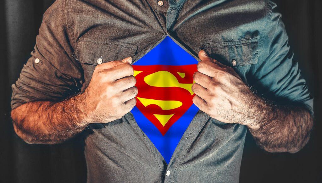 Superman im Alltag