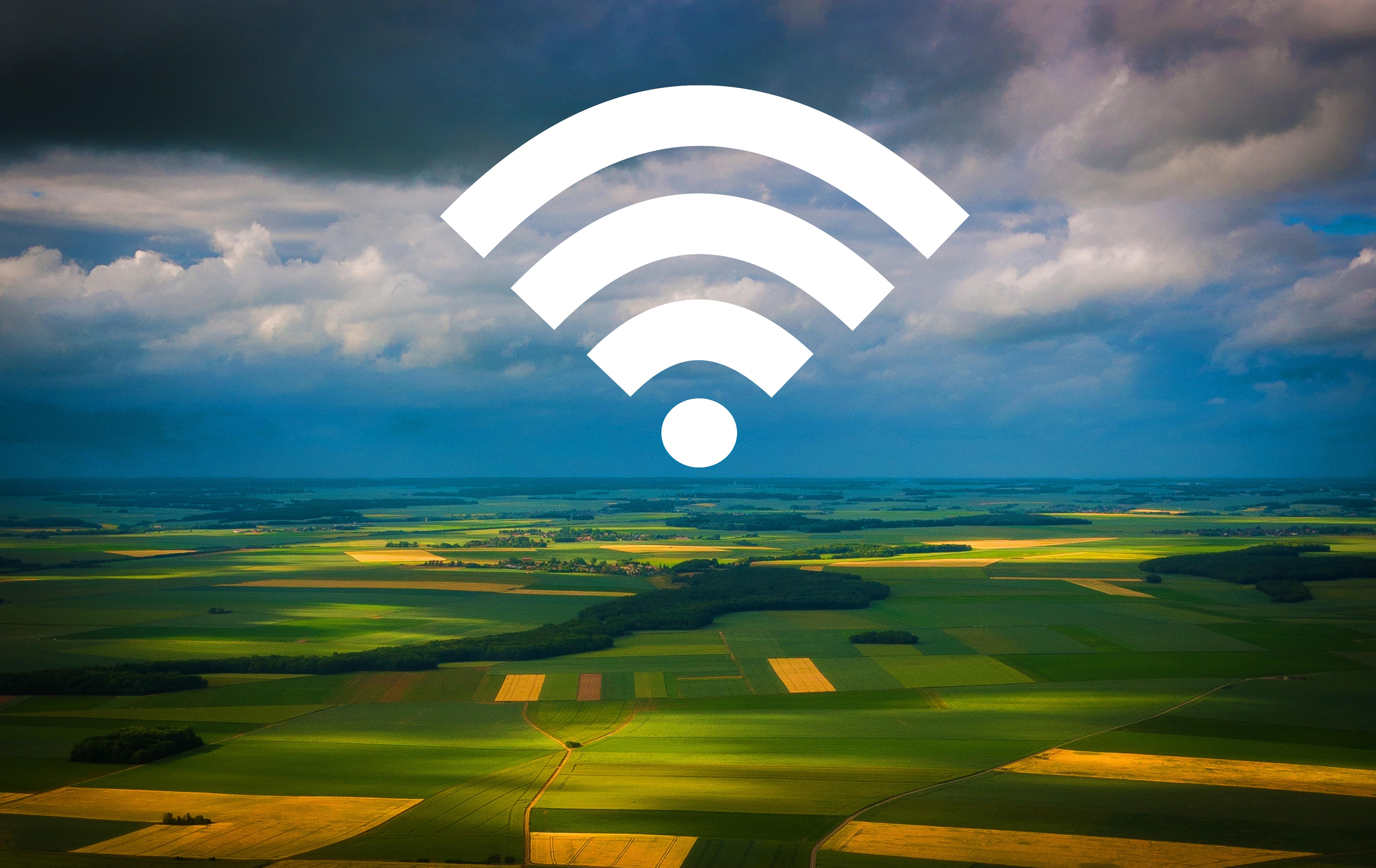 Wifi auf weiter Flur