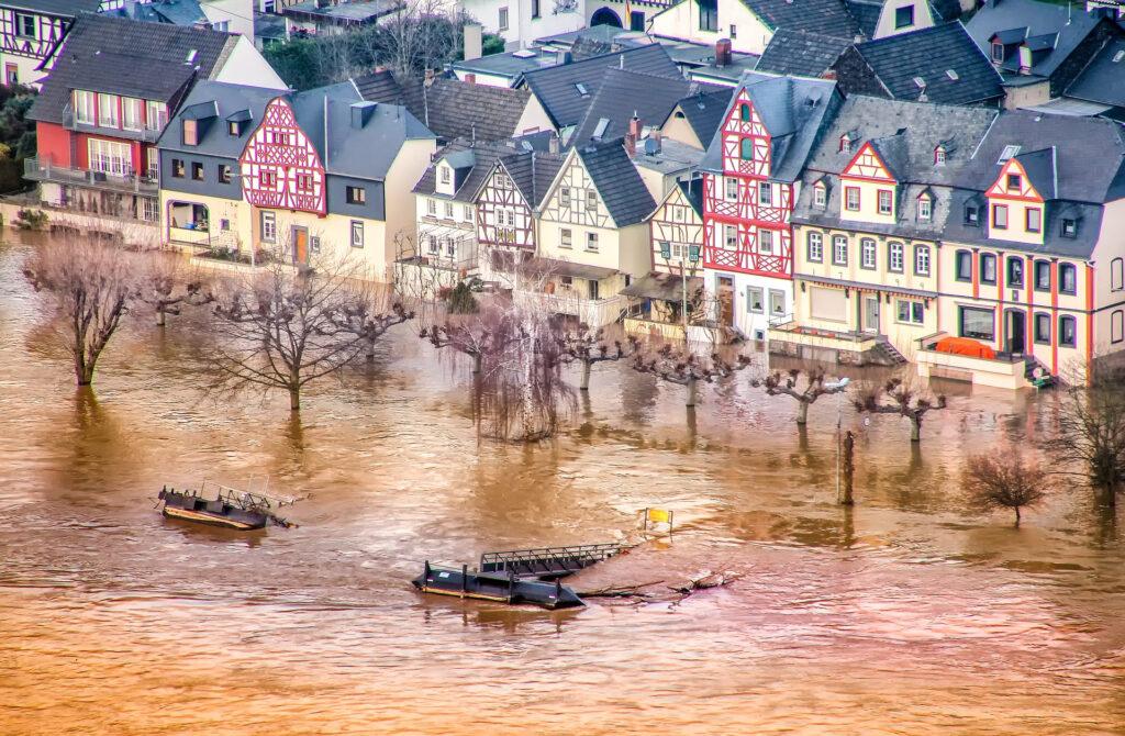 Hochwasser am Rhein. (Foto: Pixabay)