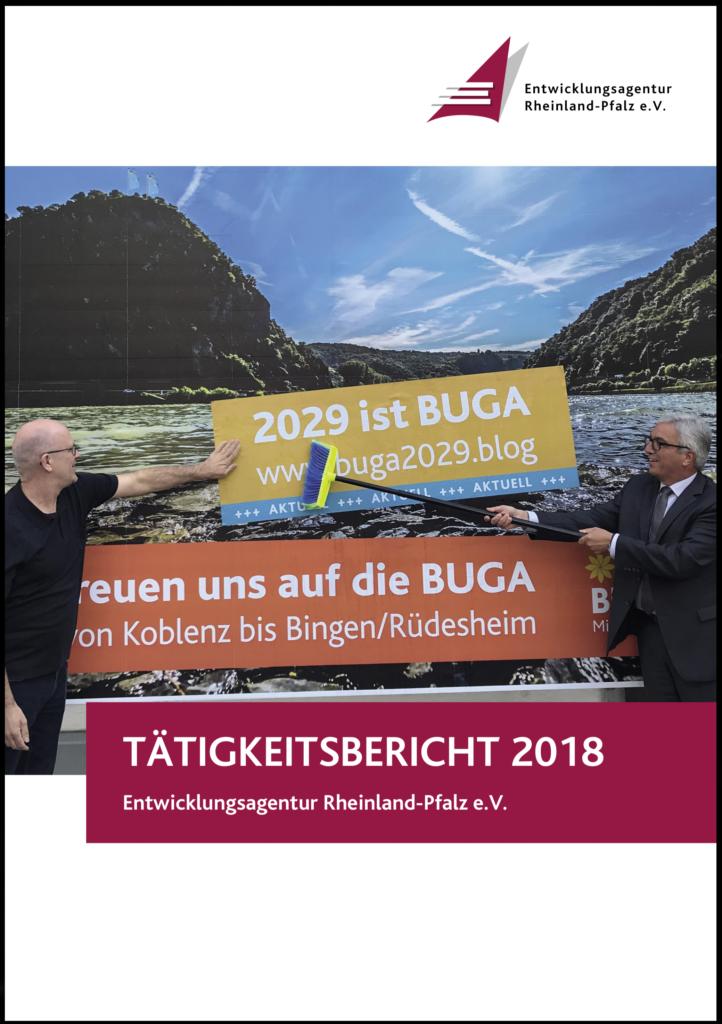 Tätigkeitsbericht 2018 Entwicklungsagentur Rheinland-Pfalz e.V.