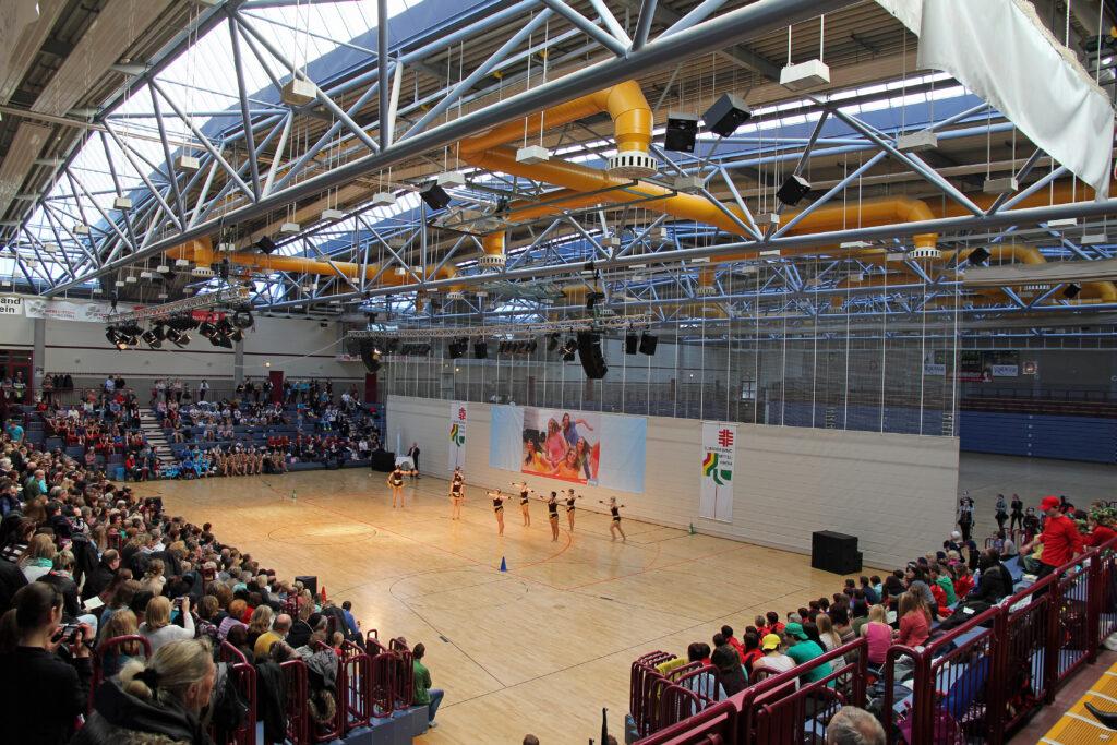 Die Multifunktionsarena im Sportpark Oberwerth in Koblenz. (Foto: Holger Weinandt/Wikipedia, CC BY-SA 3.0 de