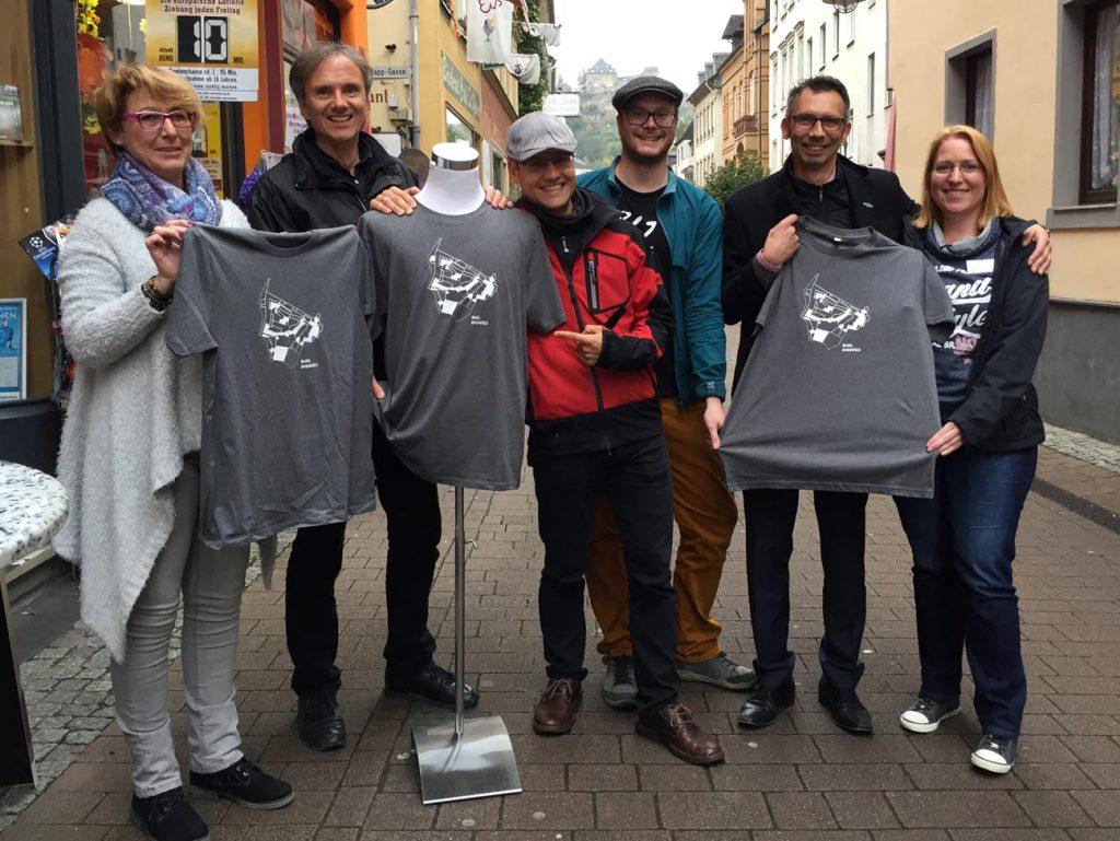Burgenblogger Moritz Meyer bei der Recherche. (Foto: Gewerbeverein St. Goar)