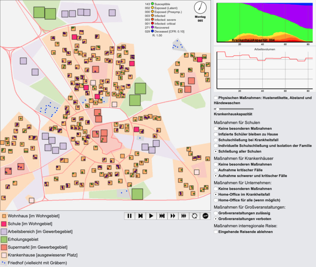 (Screenshot: Universität Hohenheim)