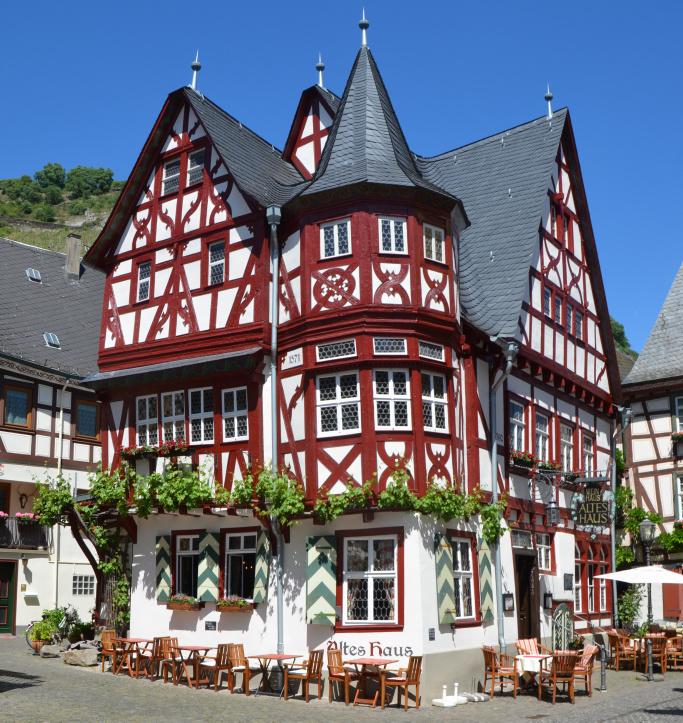 Das Alte Haus in Bacharach aus dem 16. Jahrhundert, von Jäckel Architekten denkmalgerecht saniert. (Foto: Stiftung Baukultur)