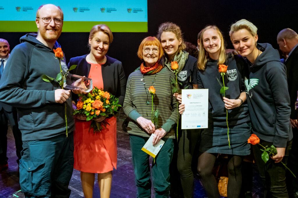 (Foto: Svea Pietschmann, Deutscher Engagement-Preis)