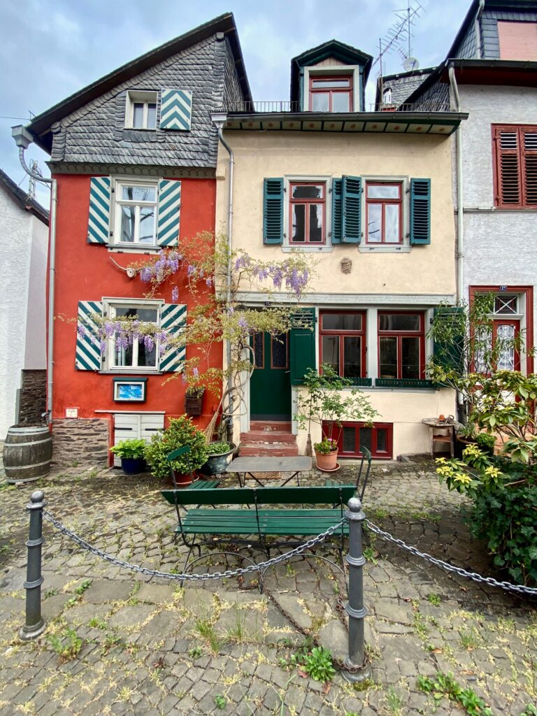 Heute im Inneren vereint: Schiffer- und Rotes Haus. (Foto Dirk Melzer)