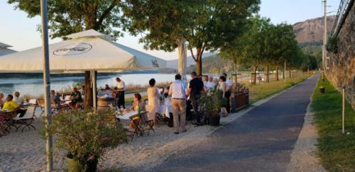 Gastronomie an der Donau